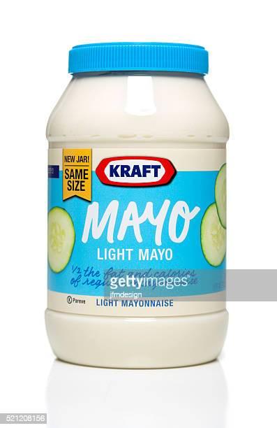 Kraft Light Mayo jar