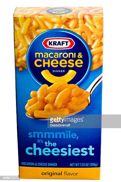 kraft macaroni & cheese - kraft foods stock photos and pictures