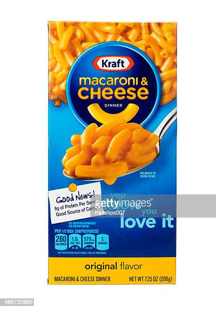 kraft macaroniand cheese - kraft foods stock photos and pictures