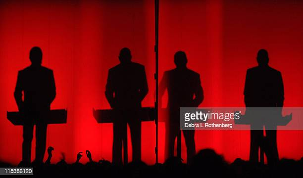 Kraftwerk during Kraftwerk Live in Concert at The Hammerstein Ballroom June 1 2005 at Hammerstein Ballroom in New York City New York United States