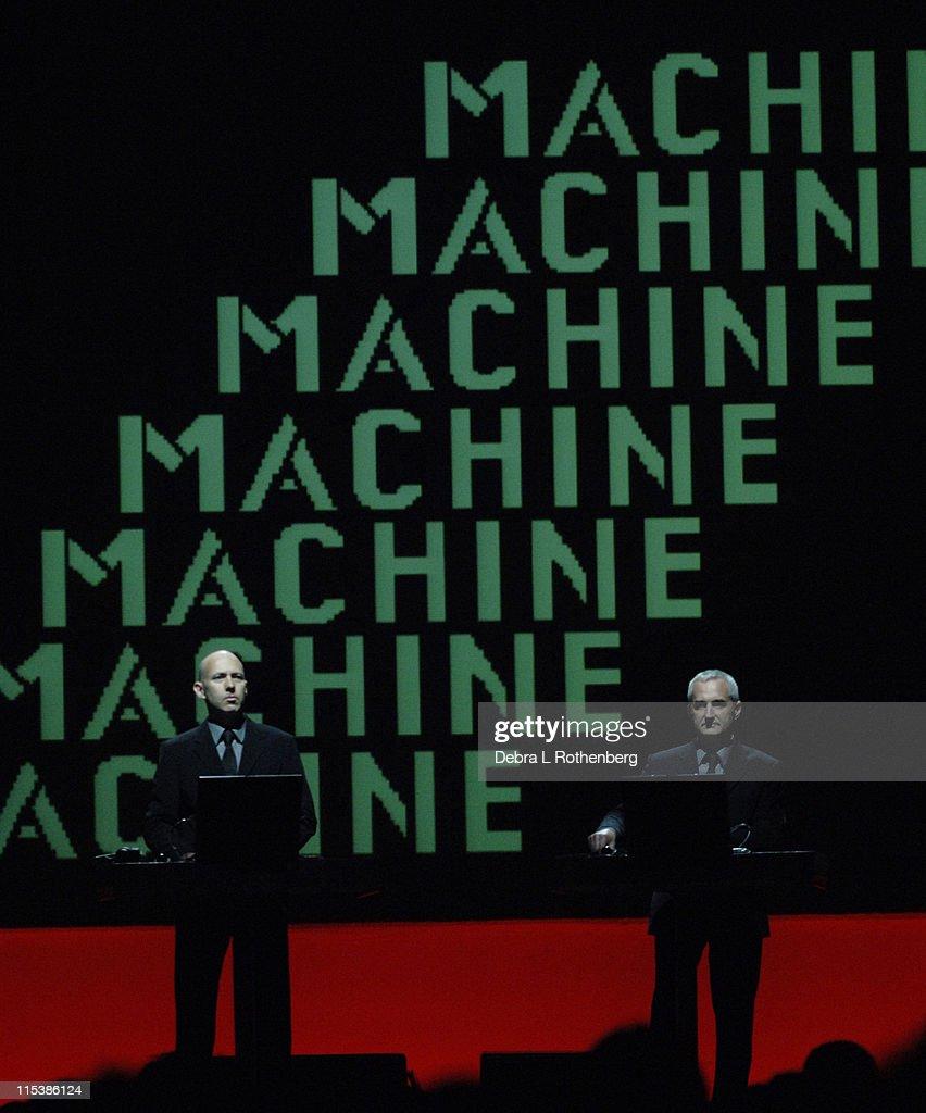 Kraftwerk Live in Concert at The Hammerstein Ballroom - June 1, 2005
