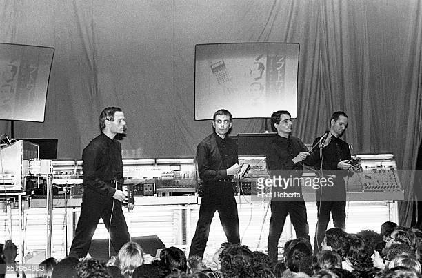 Kraftwerk performing at The Ritz in New York City on August 4 1981