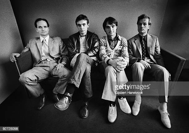 Kraftwerk posed in Rotterdam on March 21 1976 LR Florian Schneider Karl Bartos Wolfgang Flur Ralf Hutter