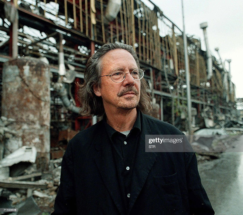 - An undated file photo shows Austrian writer and dramatist Peter Handke at the 'Zastava' factory destroyed by NATO air strikes in Kraguevac. The author, accused of Serbian nationalist sympathies, on 08 June 2006 turned down a German literature prize before politicians could revoke it. Handke said in a letter to the mayor of Duesseldorf he would not be accepting the west German city's Heinrich Heine prize to save everybody involved further embarrassment.