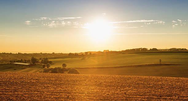 Kraichgau Region - Layers with Sun (Germany)