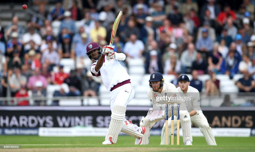 England v West Indies - 2nd Investec Test: Day Two