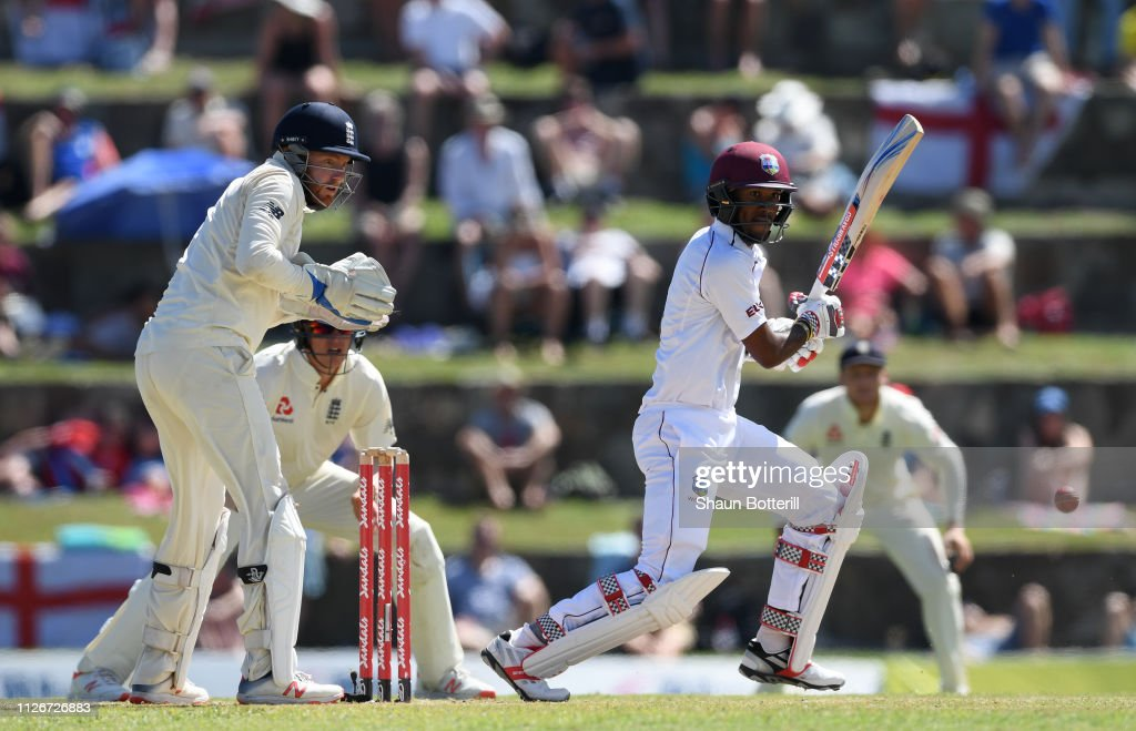 West Indies v England 2nd Test - Day Two : ニュース写真
