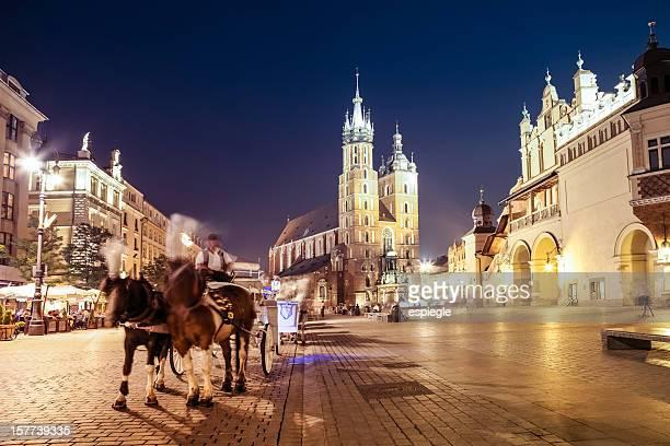 , la plaza del mercado de Cracovia