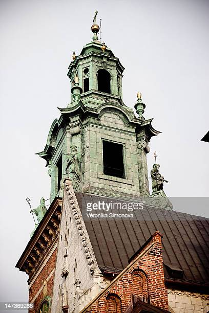 krakow - wawel cathedral stock pictures, royalty-free photos & images