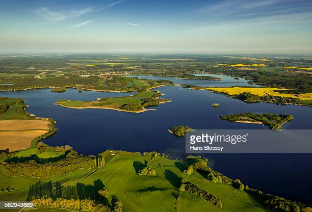 Krakower Seenlandschaft, lakeland nature reserve, Kuchelmiss, Mecklenburg Lake District, Mecklenburg-Western Pomerania, Germany