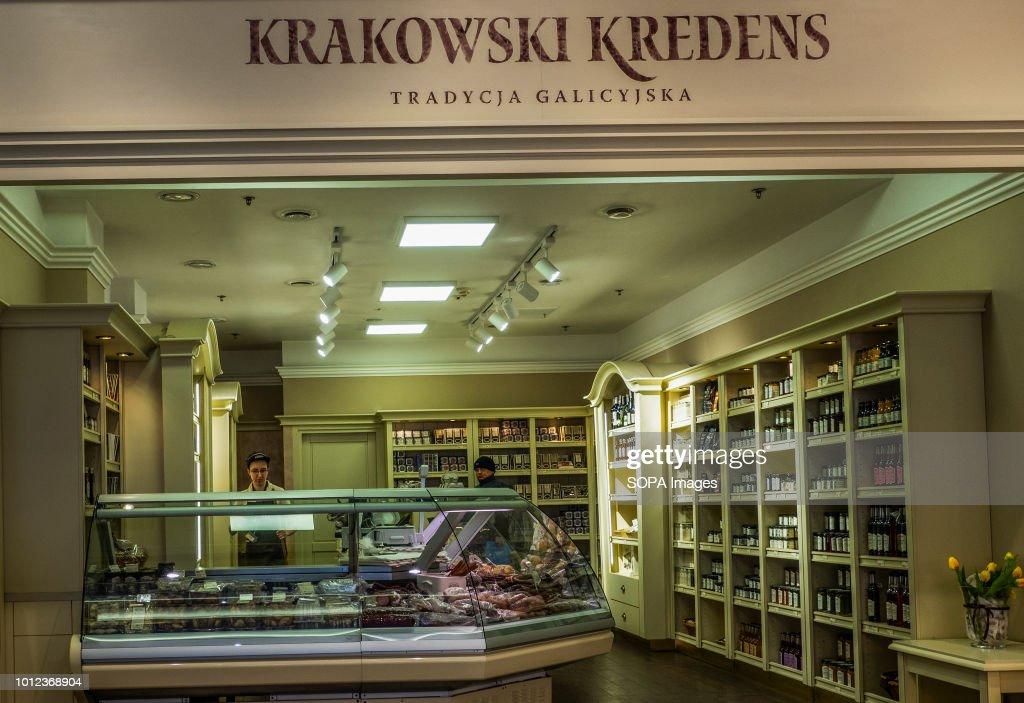 Krakowski Kredens Store In Galeria Krakowska Pictures Getty Images