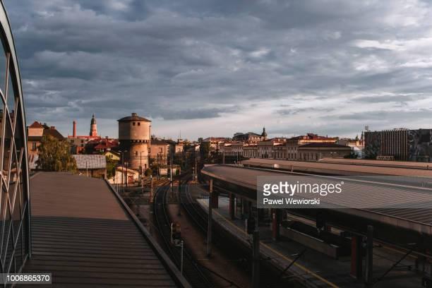 kraków główny train station, krakow, poland - kraków ストックフォトと画像