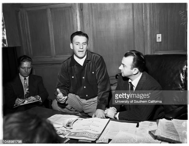 Kramer's libel suit, 07 January 1952. Stanley Kramer ;Attorney Sam Zagon..