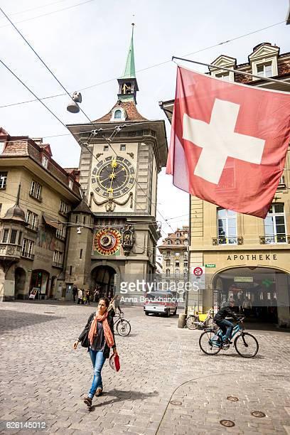 Kramgasse und Zytglogge, Bern city center