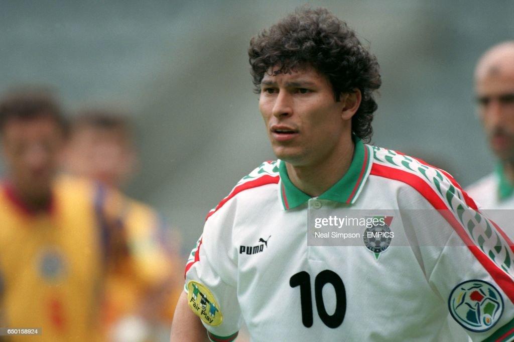 Soccer - Euro 96 - Romania v Bulgaria : News Photo