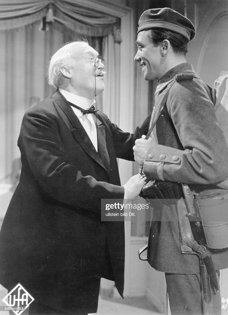 Krauss, Werner - Actor, Germany - *23.06.1884-20.10.1959+ Scene from the movie 'Annelie' Directed by: Josef von Báky Germany 1941 Produced by: Universum-Film AG (UFA) Vintage property of ullstein bild : News Photo