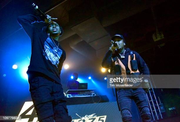 Kravitz and Jacquees perform during the 4275 Tour at Ace of Spades on January 21 2019 in Sacramento California