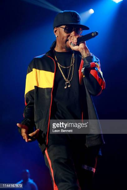 Krayzie Bone of Bone ThugsNHarmony performs during 935 KDAY Presents 2019 Krush Groove Concert at The Forum on April 20 2019 in Inglewood California