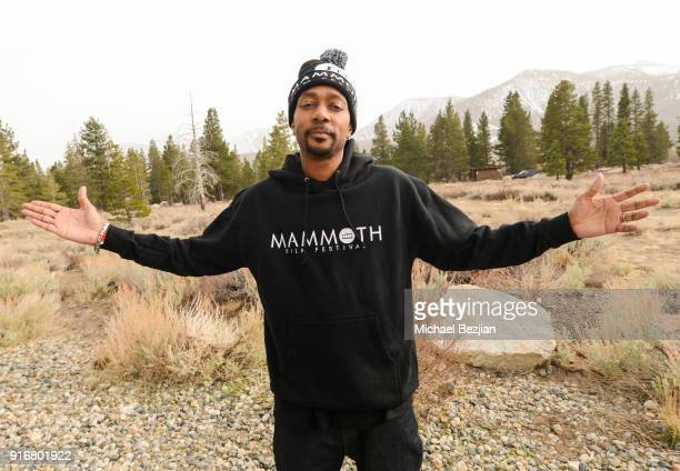 Krayzie Bone poses for portrait giveback for The Artists Project at The Inaugural Mammoth Film Festival on February 10 2018 in Mammoth Lakes...