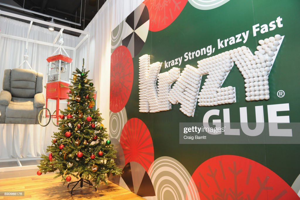 Krazy Glue Creates The Kraziest Holiday Store Yet
