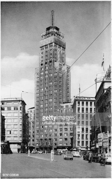 Krediet Bank KBC Tower Antwerp Belgium 1958