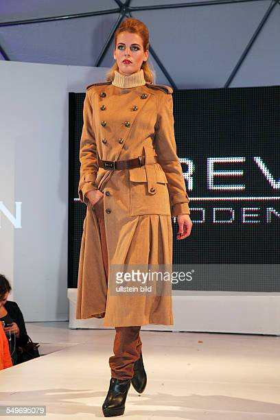Krefeld Fashionworld 2012 street fashionshow catwalk showing of the autumn and winter collection 2012/2013