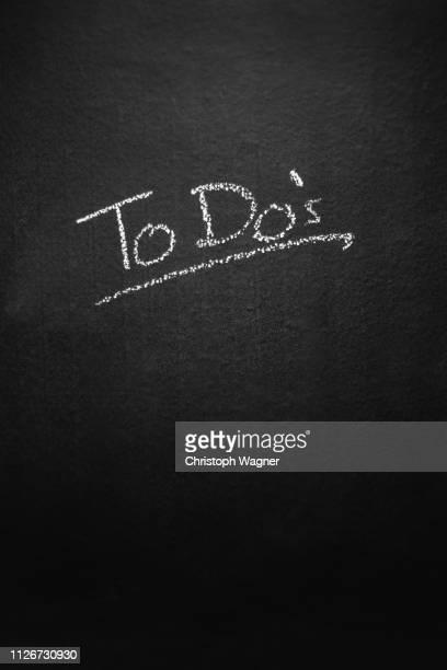 Kreide Tafel - To Do