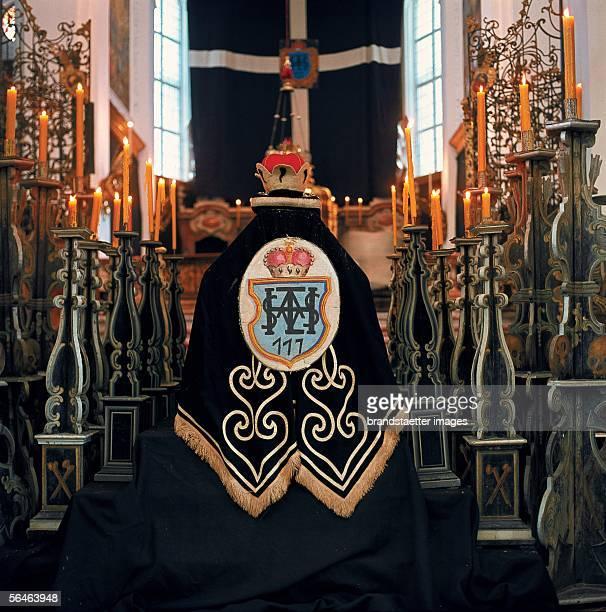 Kremsmuenster Upper Austria Benedictine monastery Founder requiem at the 11th of December in the minster Photography [Kremsmuenster Ooe...