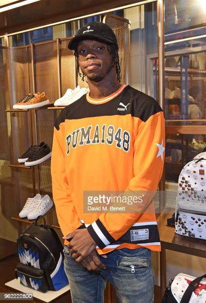 Krept attends PUMA x MCM Collaboration London Launch Party in partnership with British GQ Style on May 24 2018 in London England