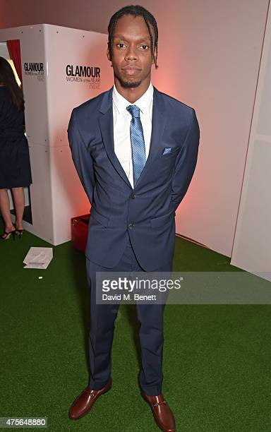 Krept attends the Glamour Women Of The Year awards at Berkeley Square Gardens on June 2 2015 in London England