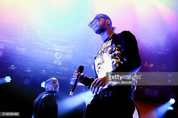Krept Konan perform at The O2 Ritz Manchester on April 4 2016 in Manchester England