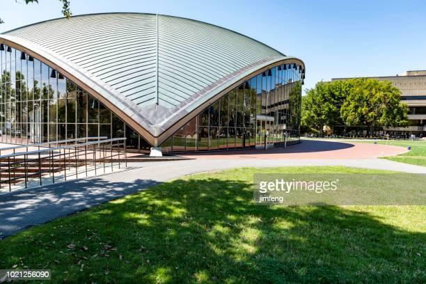 kresge の講堂 - 米マサチューセッツ州 ケンブリッジ ストックフォトと画像