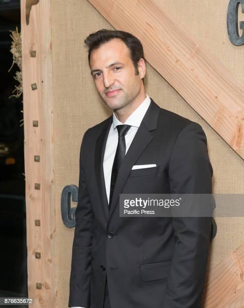Kresh Novakovic attends Netflix Godless premiere at Metrograph