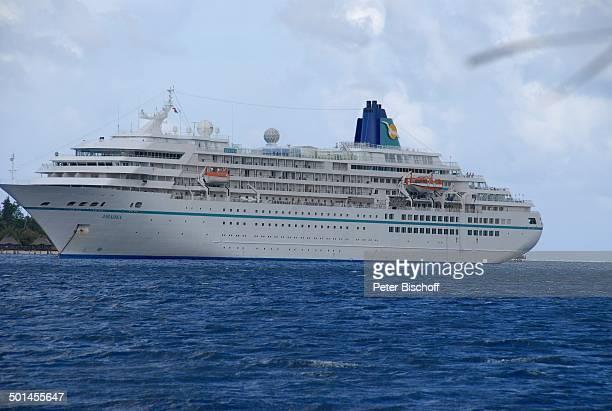 Kreuzfahrtschiff Amadea Insel Moorea FranzösischPolynesien Südsee Schiff Reise BB DIG PNr 362/2008