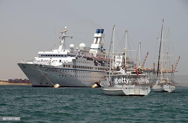 Kreuzfahrtschiff MS Astoria Hafen von Aden Jemen Asien Schiff Wasser Meer Reise BB DIG PNr 603/2008