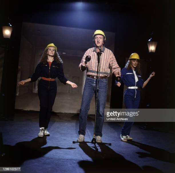 Krüger, Schauspieler, Sänger, Comedian, 1983. Porträt, Musik, 80er.