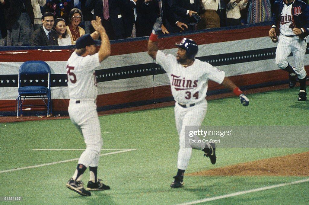 1991 World Series : News Photo
