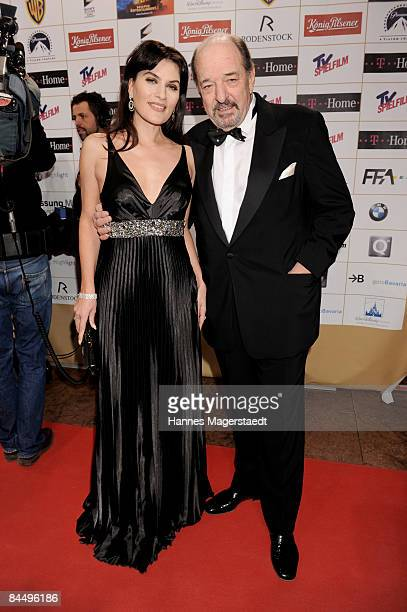Kriemhild and Ralph Siegel attend the Diva Entertainment Award at the Hotel Bayerischer Hof on January 27 2009 in Munich Germany