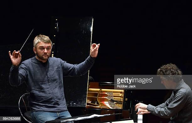 Krill Karats and Paul Lewis at the Usher Hall as part of the Edinburgh International Festival on August 20 2016 in Edinburgh Scotland