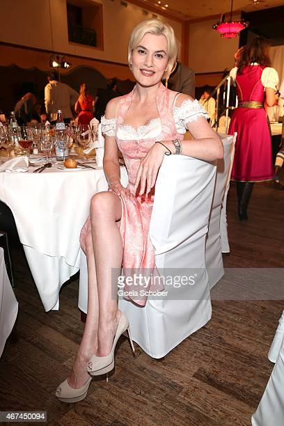 Krimhild Siegel during the SIXT fashion dinner at Nockherberg on March 24 2015 in Munich Germany