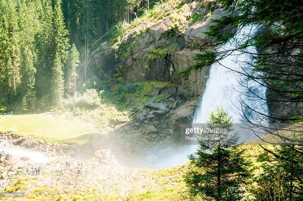 Krimml Waterfalls : Stock Photo