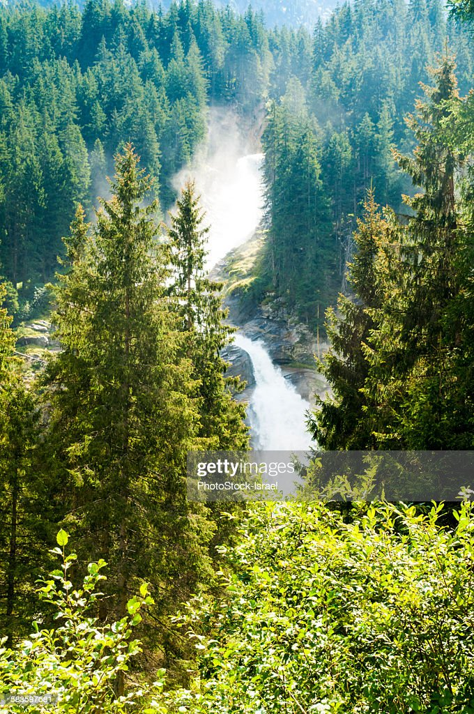 Krimml Waterfalls, Tyrol, Austria : Stock Photo
