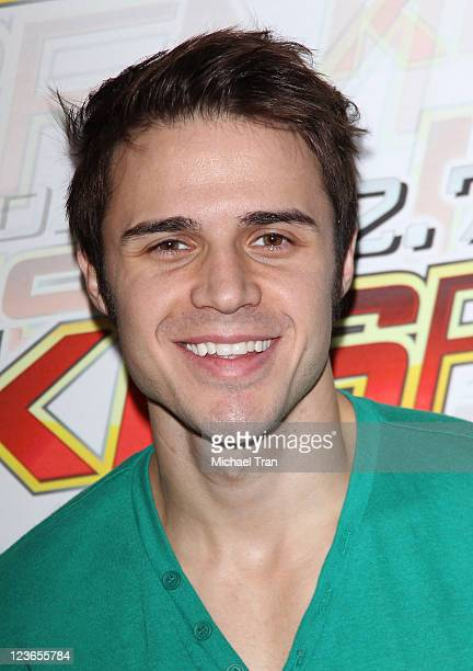 """Kris Allen attends KIIS FM's 7th Annual """"Pick Your Purse Party"""" held at Il Cielo on November 17, 2010 in Beverly Hills, California."""