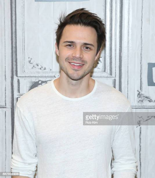 Kris Allen attends the Build Series at Build Studio on November 30 2017 in New York City