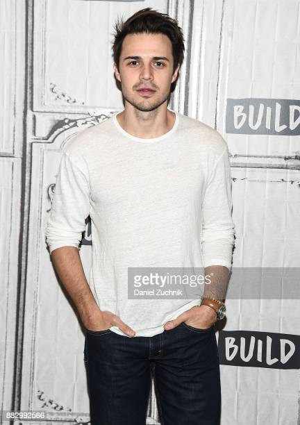 Kris Allen attends the Build Series to discuss his Somethin' About Christmas album and tour at Build Studio on November 30 2017 in New York City