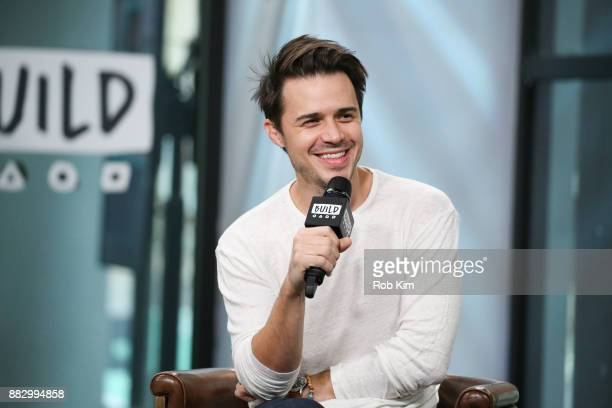 Kris Allen discusses Somethin' About Christmas Album Tour during the Build Series at Build Studio on November 30 2017 in New York City