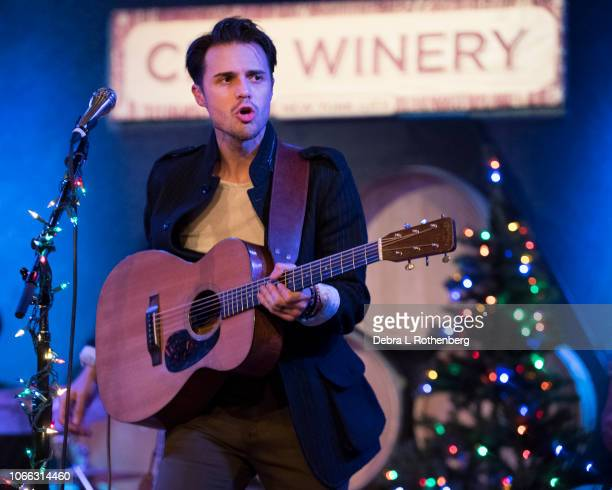 Kris Allen live in concert at City Winery on November 28 2018 in New York City