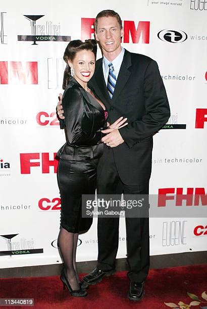 Kris Benson Anna Benson during FHM hosts fundraiser for Benson's Battalion at Eugene in New York New York United States
