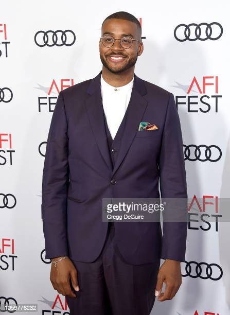 Kris Bowers arrives at the AFI FEST 2018 Presented By Audi Green Book Gala Screening at TCL Chinese Theatre on November 9 2018 in Hollywood California
