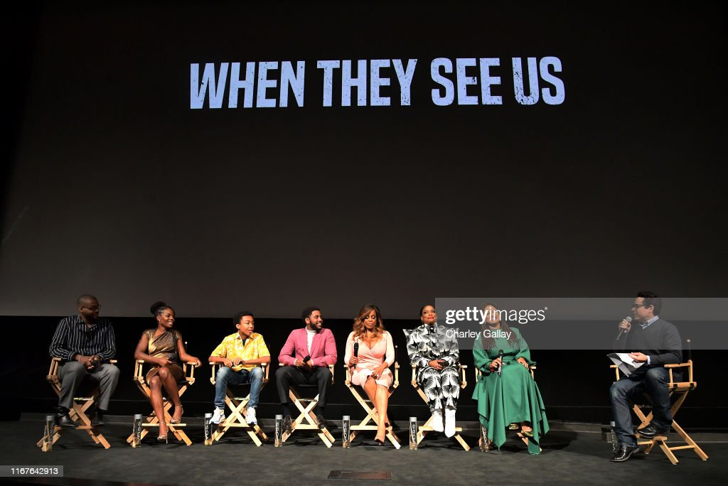 "Netflix's ""When They See Us"" Screening & Reception : Foto jornalística"